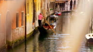 HD SUPER SLOW-MO: Venetian Gondolier video