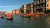 Venetian Regatta shot on film video