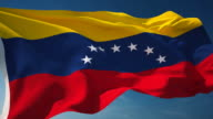 4K Venezuela Flag - Loopable video