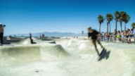 Venice Beach Skate Park - Time Lapse video