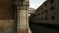Venice Bridge of Sighs video
