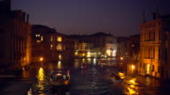 Venice by sunset, Time Lapse video