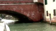 Venice canals gondolas bridges video