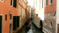 Venice gondolas (HD) video