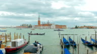 Venice gondolier ride video