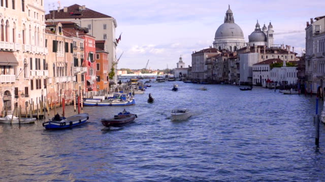 Venice. Grand Canal. Basilica Santa Maria video