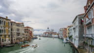 Venice Grand Canal timelapse video