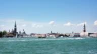 Venice in a bright shiny day. video