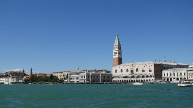 Venice Italy Grand Canal ,boat view video