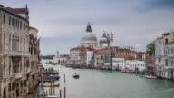 Venice, Italy Time lapse Grand Canal , Ponte dell'Accademia , accademia bridge video