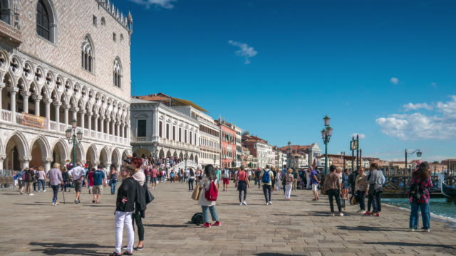 Venice italy , Tourist Visiting Venice , Time Lapse video