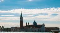 Venice San Giorgio Maggiore church, Italy video