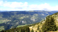 Vercors time lapse in summer HD. video