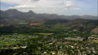 Vergelegen Winery  - Aerial View - Western Cape,  City of Cape Town,  South Africa video
