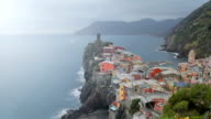 Vernazza fishing village in Five lands, Cinque Terre National Park, Liguria, Italy. video