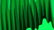 MORPHOGENETIC FLUX : vertical - green (LOOP) video
