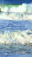 Vertical surf waves video