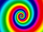 Vertigo Rainbow Background NTSC video