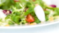 Very delicious fresh cooking salad video