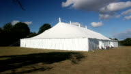 Very large Marquee / Tent video