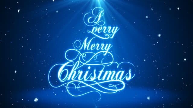 A Very Merry Christmas   4K video