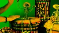 Vetta, Tamtam Party with Skeleton, Mardi-Gras video