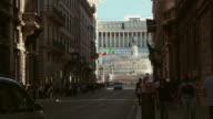 Via del Corso in Rome video