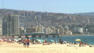 Vi+¶a del Mar Beach video