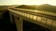 Viaduct At Sunset video