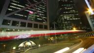 Viaduct in Hong Kong HD video