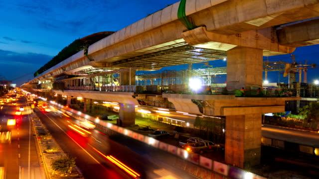 viaduct under reconstruction video