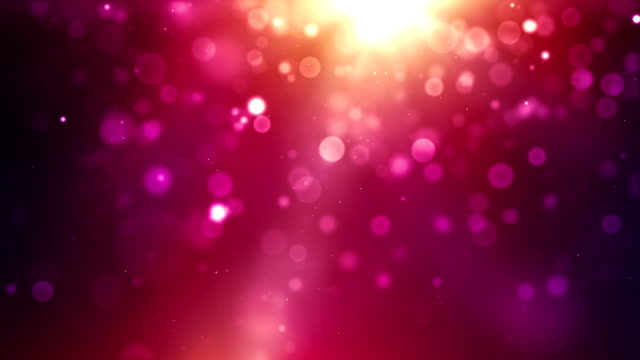 Vibrant Background Loop - Tropical Pink (Full HD) video