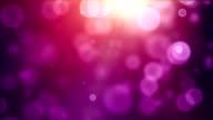 Vibrant Background Loop - Vivid Tropical Pink (Full HD) video