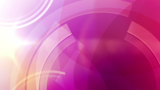 Vibrant Circles Background Loop - Tropical Pink (Full HD) video