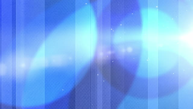 Vibrant Colourful Circles Background Loop - Blue (Full HD) video