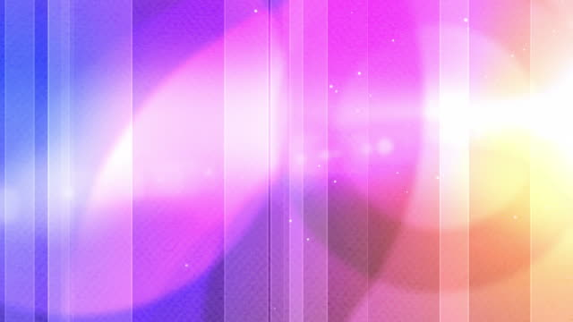 Vibrant Colourful Stripes Background Loop - Pink Rainbow (Full HD) video