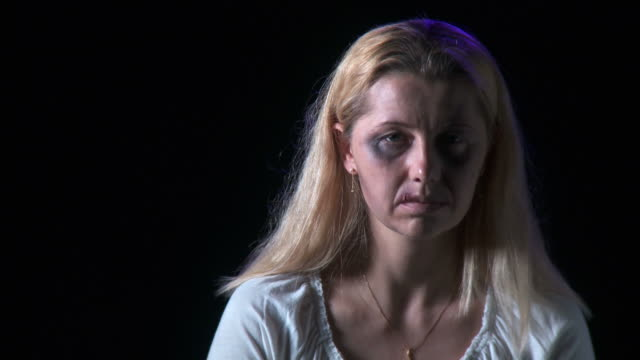 HD: Victim Of Domestic Violence video