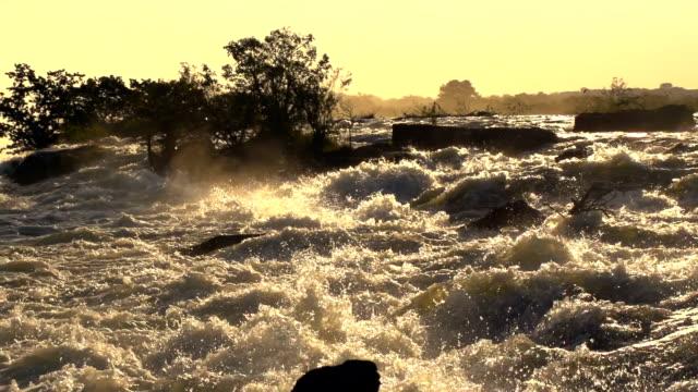 Victoria Falls Slow Motion video
