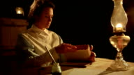 victorian woman reading the bible video