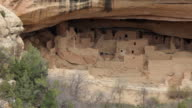 HD video Ancestral Pueblo ruins in Mesa Verde NP Colorado video