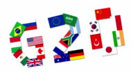 Video animation about the G20 nations video
