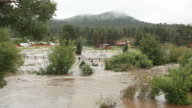 HD video Big Thompson River flooding Estes Park video