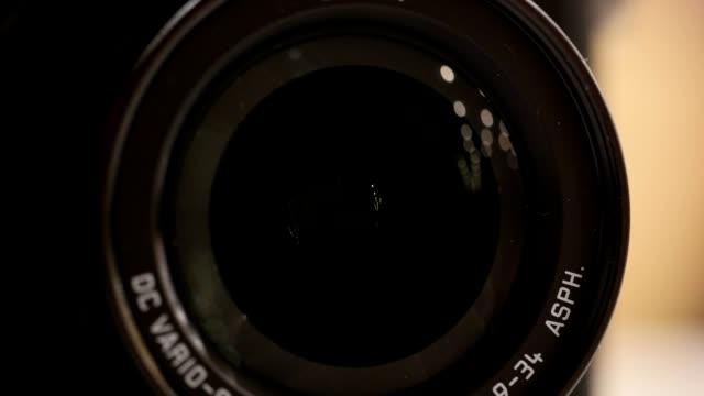 Video Camera Lens Zoom video