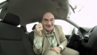 HD TIME-LAPSE: Video Conference In The Car video