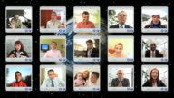HD MONTAGE: Video Correspondence video