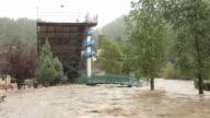 HD video Estes Park flooding Colorado video
