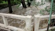 HD video flooding Bear Creek roars through Morrison Colorado video