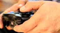 Video game, controller, gamer, playing, human hands, adult video