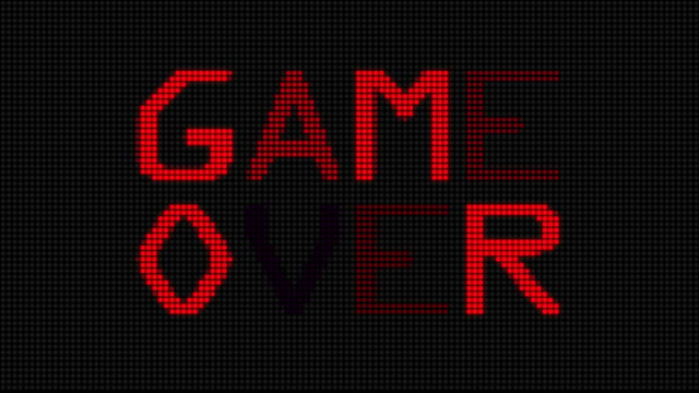 Video Game Over (HD) video