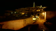 video ha sassi di matera Italy night video